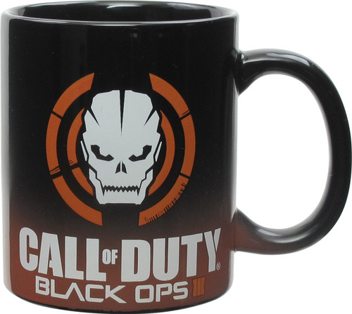 Call of Duty Black Ops 3 Skull Logo Mug