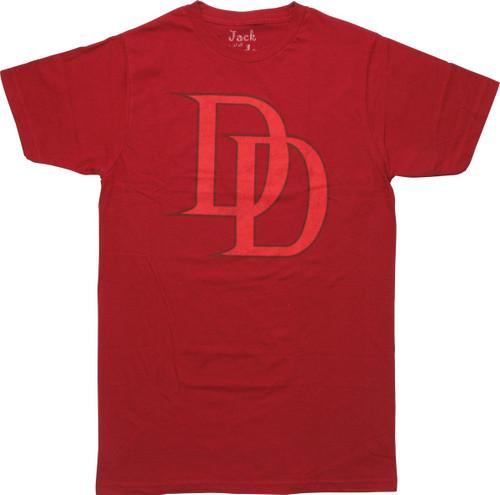 Daredevil DD Letter Logo T-Shirt