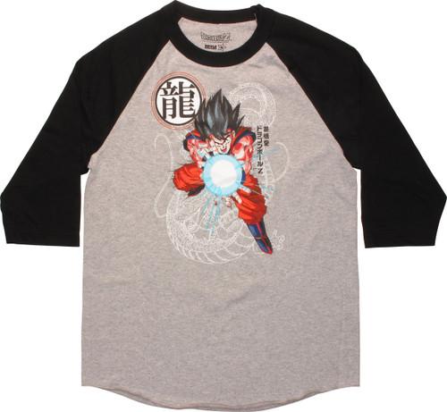 Dragon Ball Z Goku Kamehameha Raglan T-Shirt