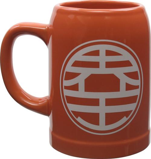 Dragon Ball Z Goku Kaio Symbol Stein Mug