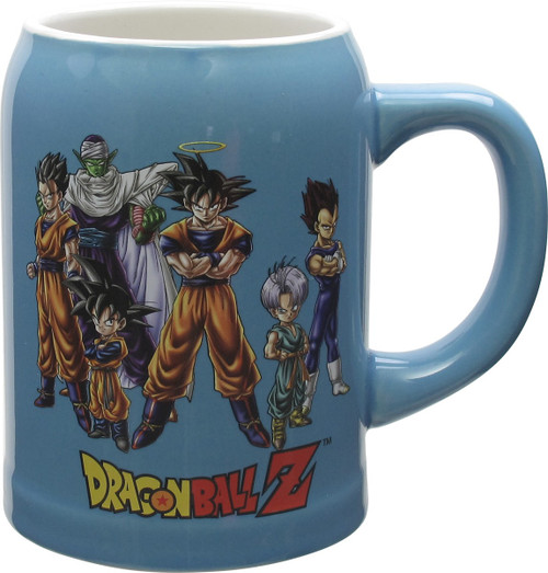 Dragon Ball Z Group Stein Mug