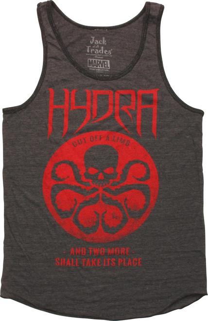 Hydra Cut Off a Limb Distressed Tank Top