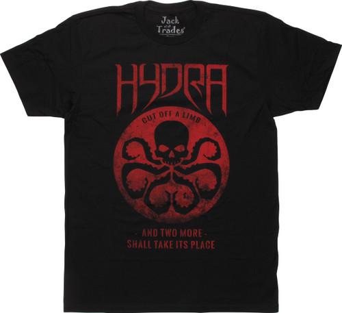 Hydra Cut off a Limb Dist Logo T-Shirt