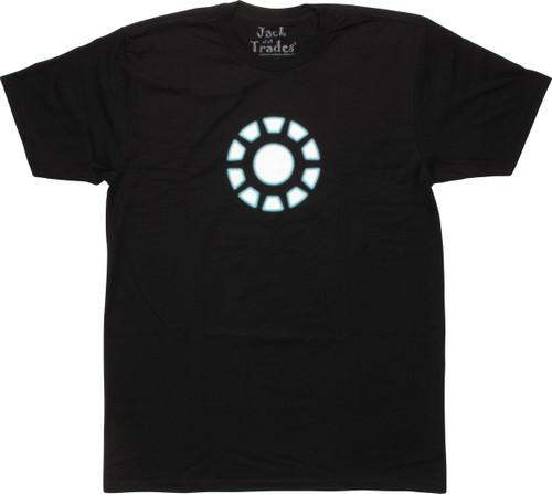 Iron Man Arc Reactor Logo T-Shirt