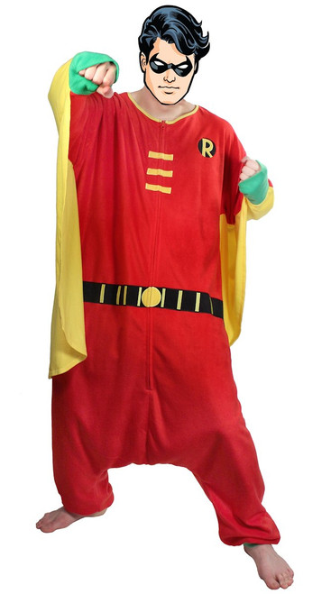 Robin Costume with Cape Kigurumi Pajamas