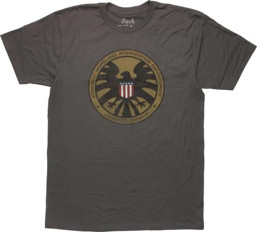 SHIELD Homeland Intervention Logo T-Shirt