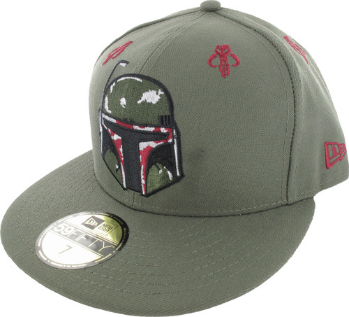 Star Wars Boba Fett Helmet 59Fifty Hat hat-star-wars-boba-fett-hlm-59fifty cb722a060649