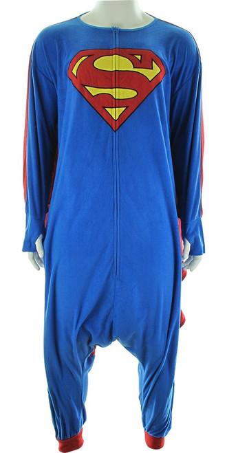 Superman Caped Costume Kigurumi Pajamas