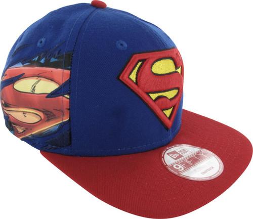 Superman Logo Side Panel 9Fifty Hat