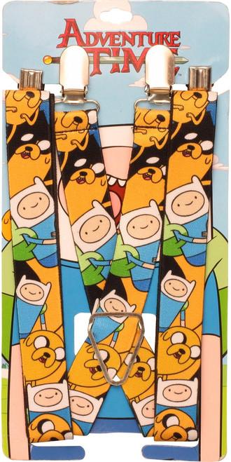 Adventure Time Jake Finn Poses Suspenders