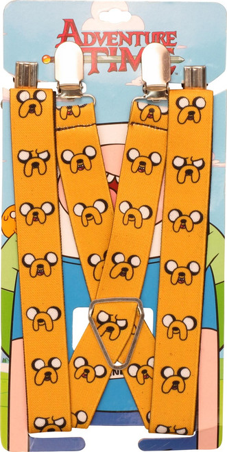 Adventure Time Jake Faces Suspenders