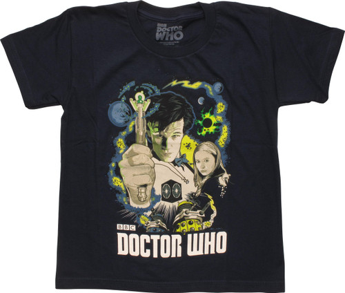 Doctor Who The Eleventh Doctor Juvenile T-Shirt