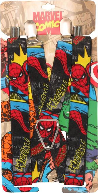 Spiderman Action Pose Suspenders