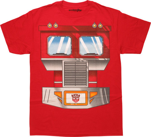 Transformers Optimus Prime Chestplate T-Shirt