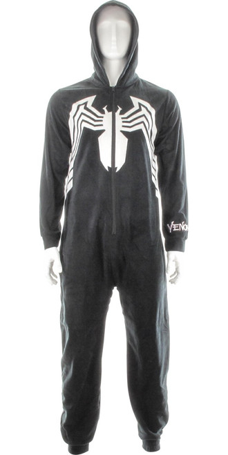 Venom Costume Hooded Union Suit