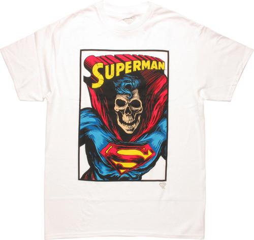 Superman Skull Face T-Shirt