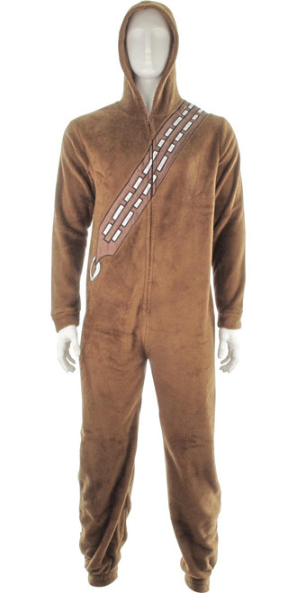 Star Wars Chewbacca Hooded Union Suit