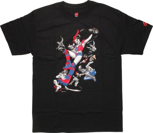 Harley Quinn Gang of Harleys T-Shirt