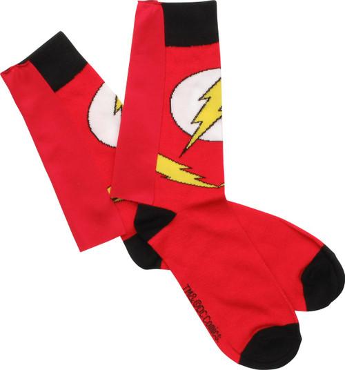 Flash Suit Caped Crew Socks