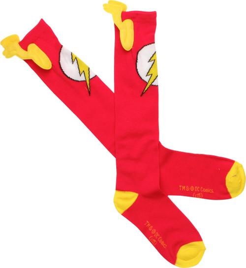 Flash Logo Wings Knee High Socks