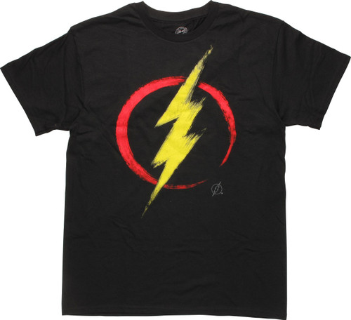 Flash Brush Stroke Logo T-Shirt