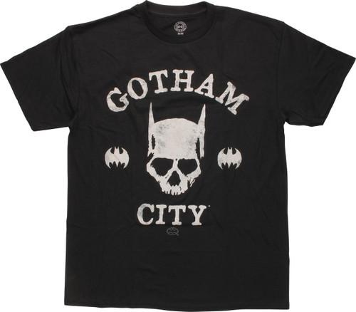 Batman Gotham City Skull T-Shirt