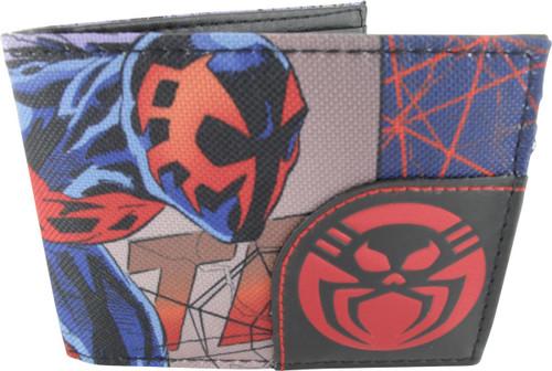 Spiderman 2099 Corner Logo Bifold Wallet