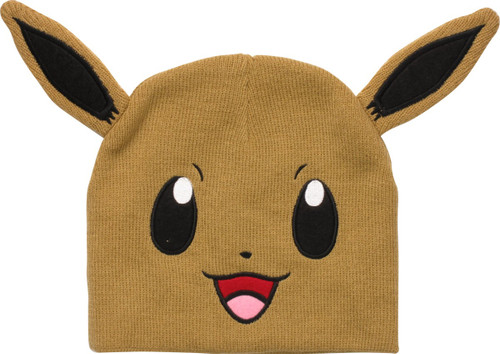 Pokemon Eevee Head Beanie