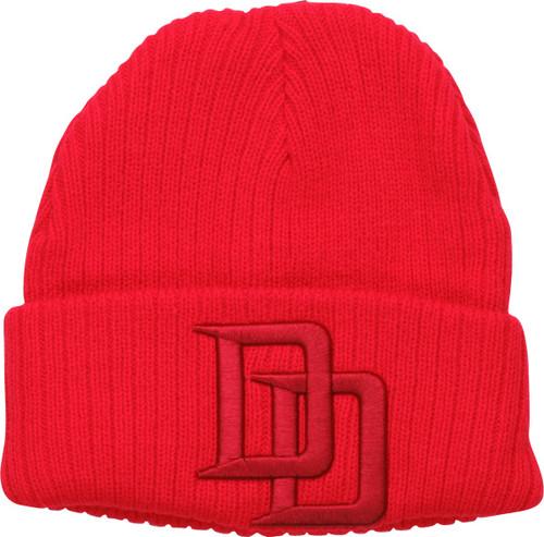 Daredevil DD Logo Red Cuff Beanie