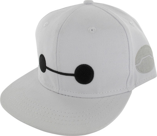 20805349aed Big Hero 6 Baymax Face Snap Youth Hat