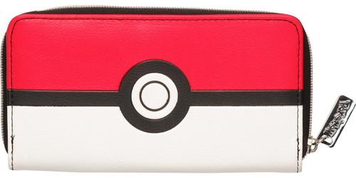 Pokemon Poke Ball Zip Clutch Wallet