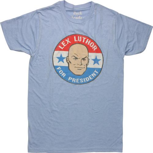 Lex Luthor President Circle T-Shirt