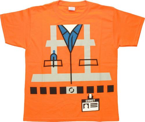 Lego Movie Emmet Costume Youth T-Shirt