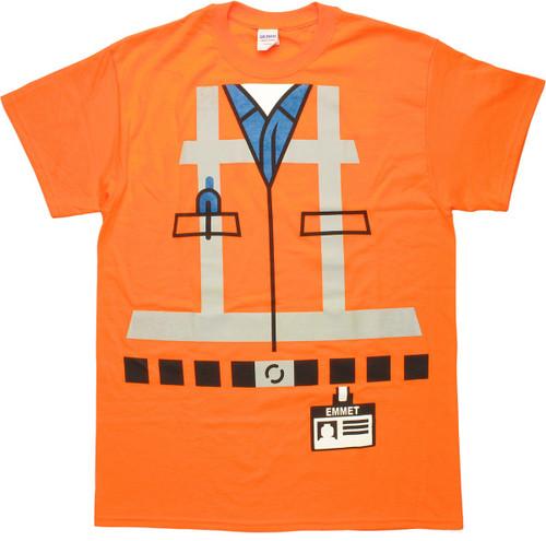 Lego Movie Emmet Costume T-Shirt
