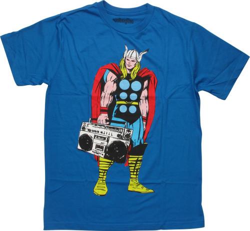 Thor Standing Boombox T-Shirt