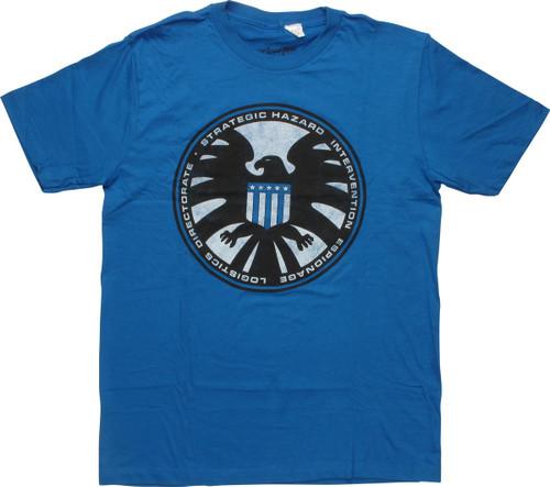 Avengers Strategic Hazard Logo T-Shirt