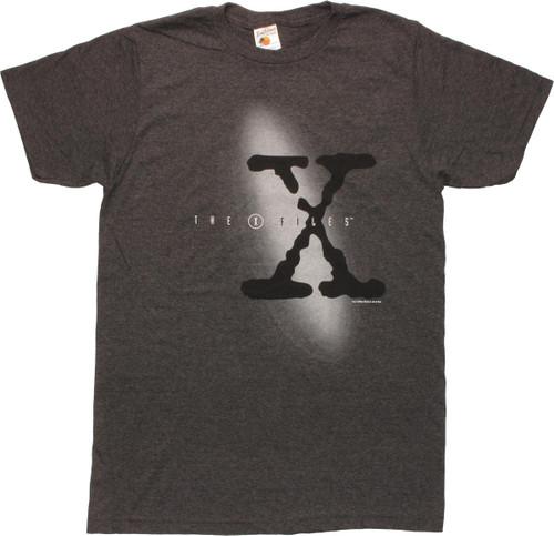 X Files Big X Show Logo T-Shirt