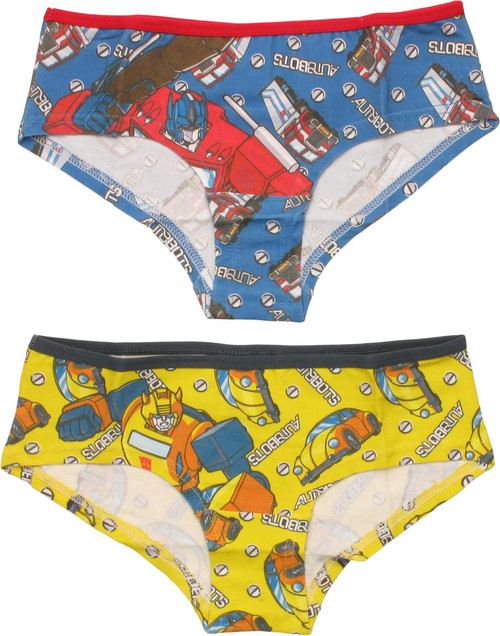 Transformers Autobots 2 Pack Panty Set