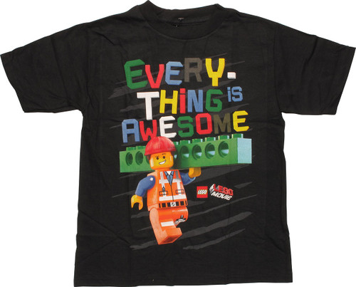 Lego Movie Everything is Awesome Juvenile T-Shirt