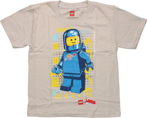 Lego Movie Benny Spaceships Juvenile T-Shirt