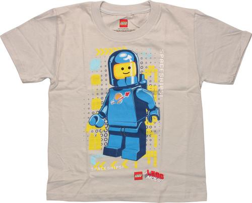 Lego Movie Benny Spaceships Juvenile T-Shirt