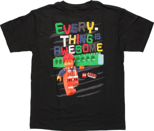 Lego Movie Everything is Awesome Youth T-Shirt