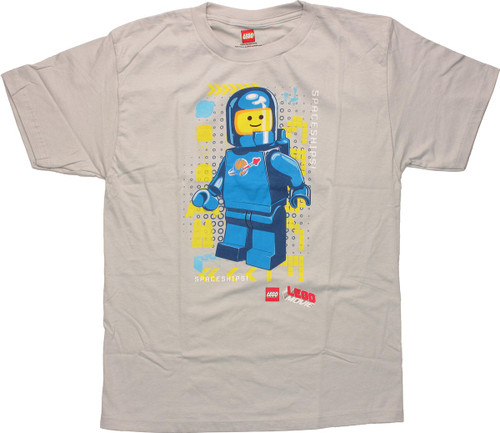 Lego Movie Benny Spaceships Youth T-Shirt
