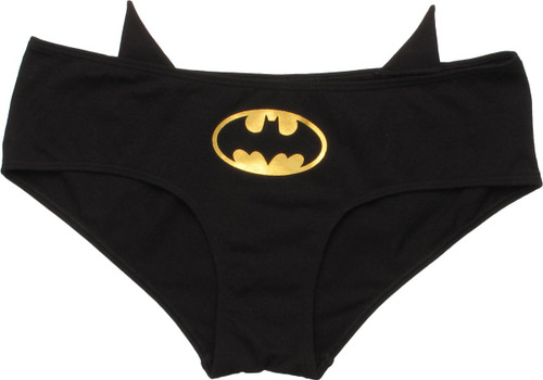 Batman Ears and Logo Hipster Panty