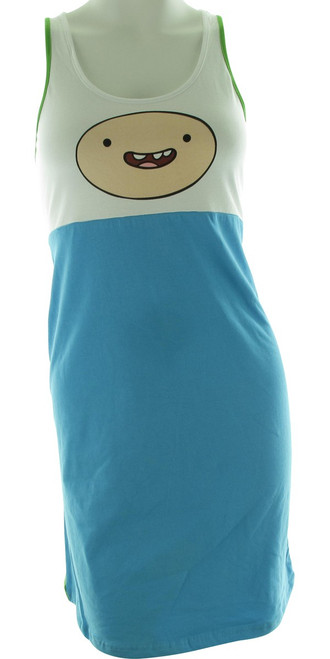 Adventure Time Finn Tank Top Dress