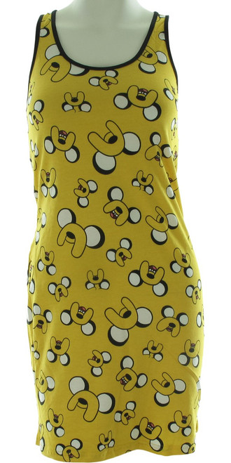 Adventure Time Jake Jumble Tank Top Dress