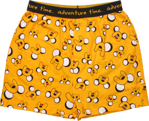 Adventure Time Jake Face Jumble Boxers