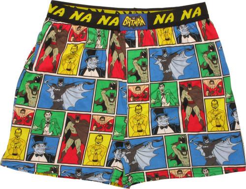 Batman Comic Panel NA NA Boxers