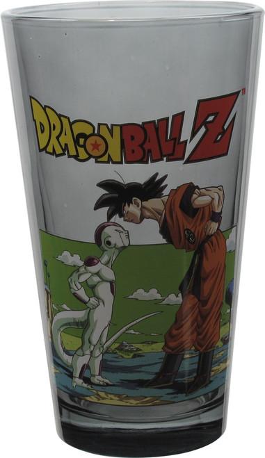 Dragon Ball Z Goku and Frieza Stare Pint Glass
