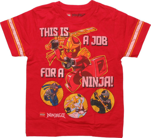 Lego Ninjago Job for a Ninja Juvenile T-Shirt